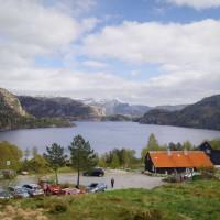 Ausgangspunkt der Wanderung: Die Preikestolhytta