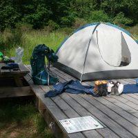 Eifel-Trekking: Zeltstelle Nordstern