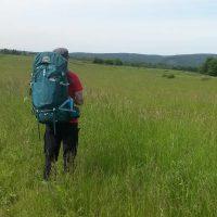 Ausblick beim Wandern in der Eifel