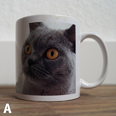 Bürotasse A - Die Katze