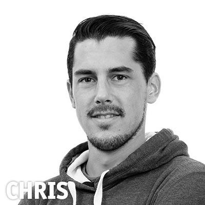 Highländer Mitarbeiter Chris