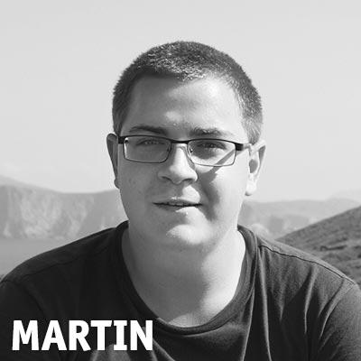Highländer Mitarbeiter Martin