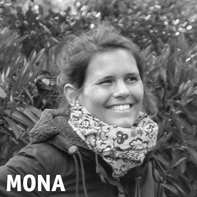 Highländer Mitarbeiterin Mona