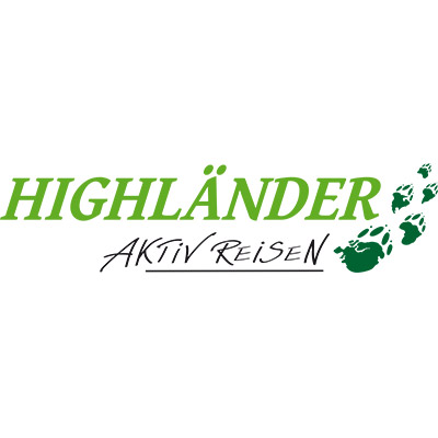Das alte Logo von Highländer Reisen