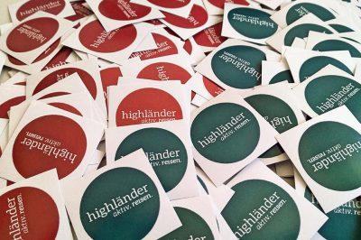 Neues Logo bei Highländer Reisen