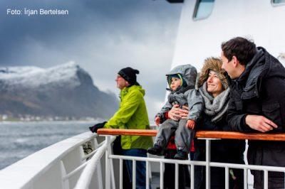 Auf den Hurtigruten