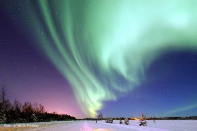 Magische Nacht mit Nordlicht