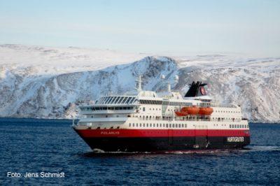 Die Polarlys - Schiff der Hurtigruten