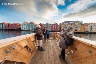 Ein Besuch in Trondheim während einer Fahrt mit der Hurtigruten