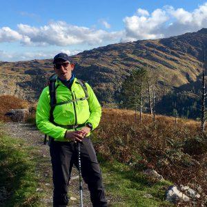 Reiseleiter Rafael unterwegs in Irland