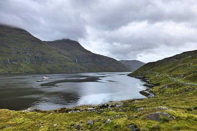 Killary Harbour in Irland