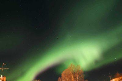 Nordlicht in Schwedisch-Lappland