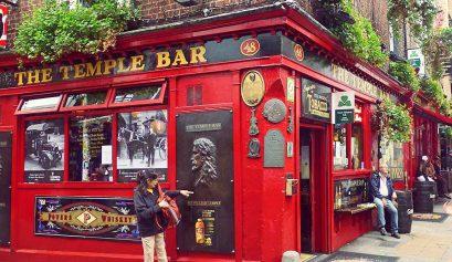Irland Reisebericht: Temple Bar in Dublin