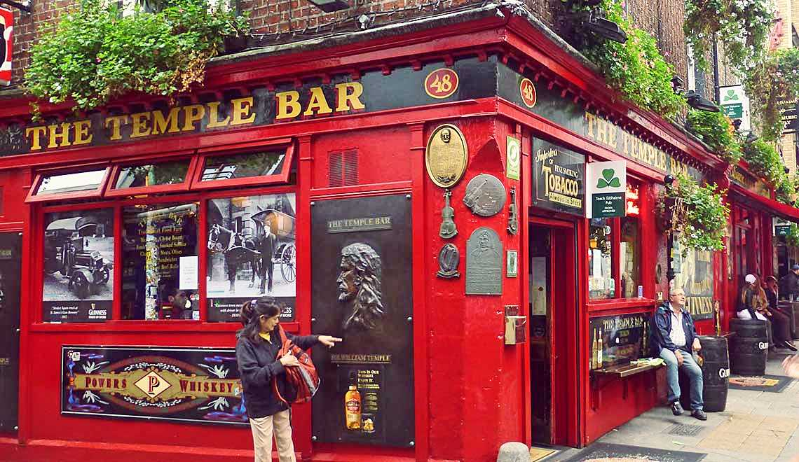 Irland Reisebericht: Temple Bar in Dublin