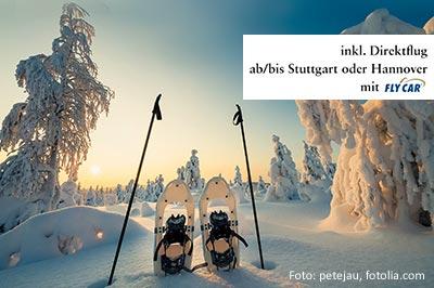 Winterreise: Winterabenteuer in Schwedisch-Lappland