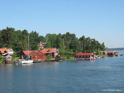 Fahrt nach Vaxholm