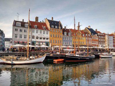 Nyhavn in Kopenhagen ist Teil der Krimitour