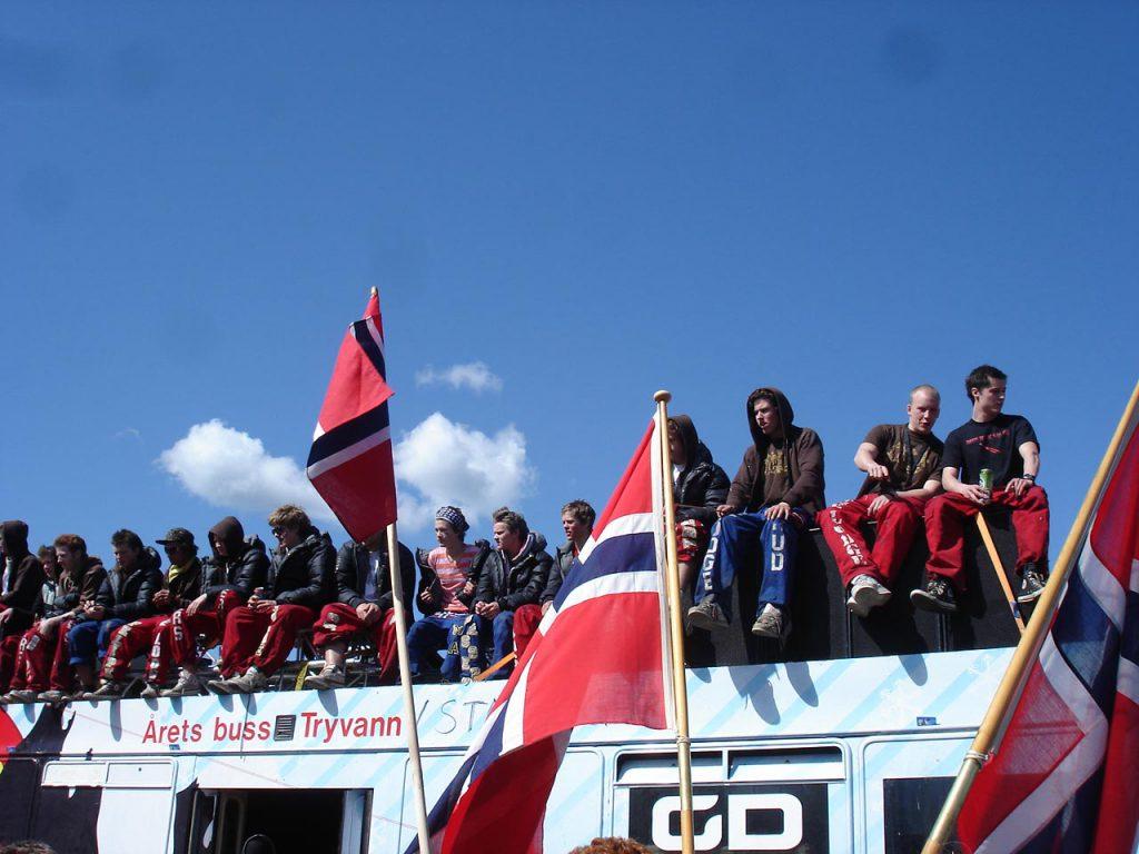 Ausflug an Norwegens Nationalfeiertag