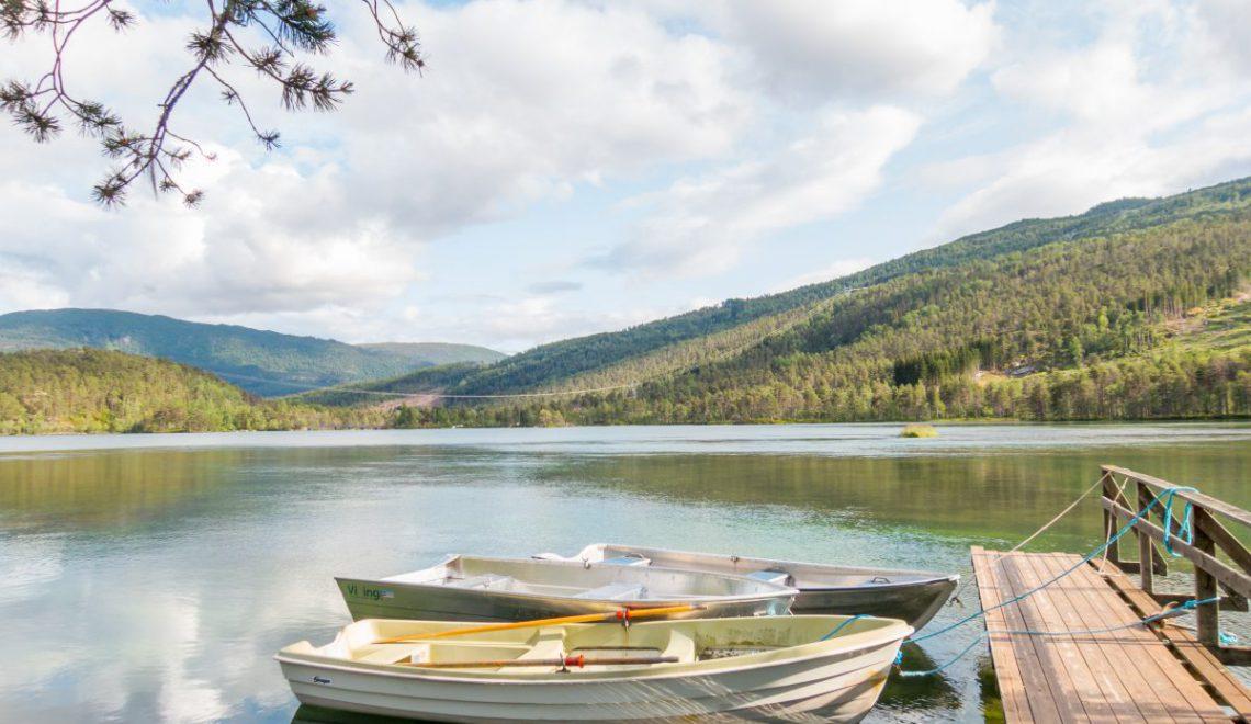 Sommer in Schweden am See