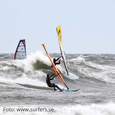 Winter Highlights in Schweden: Windsurfen in Varberg