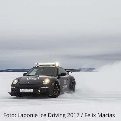 Ice Driving in Arjeplog