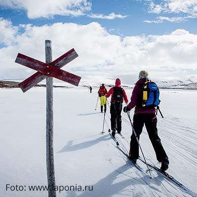 Skilanglauf in Ahkka