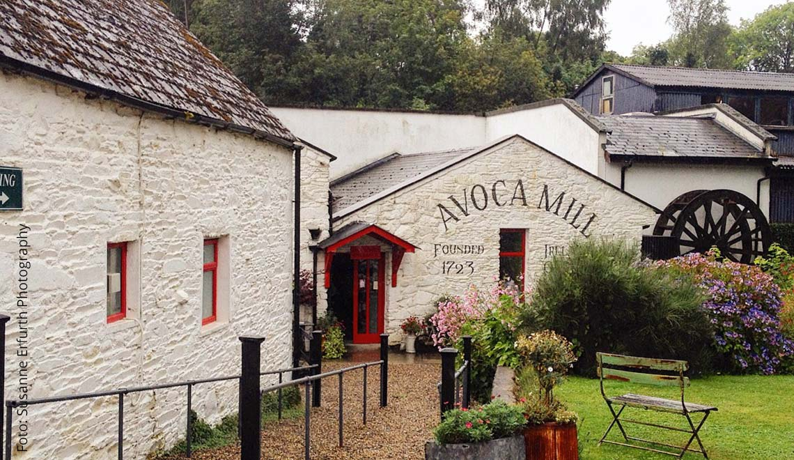 Wicklow Mountains Geheimtipps: Avoca Mill