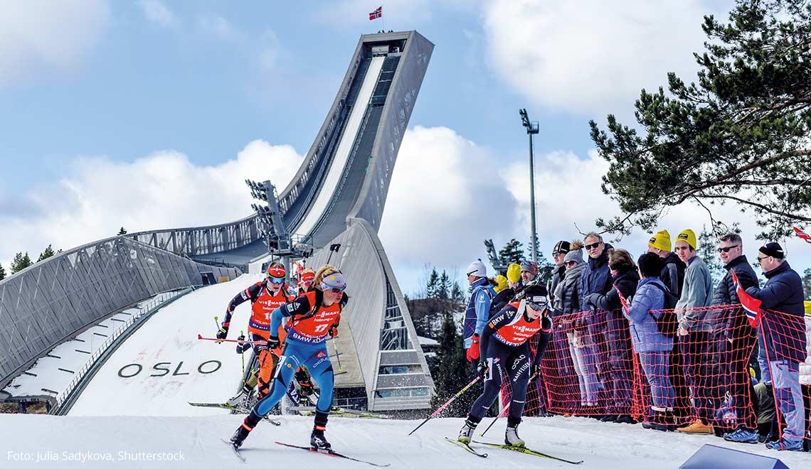 Biathlon am Holmenkollen