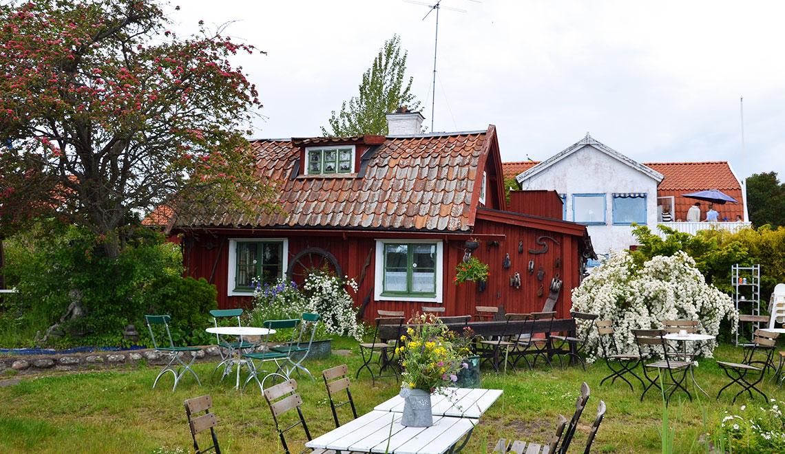 Idylle pur auf Sandhamn