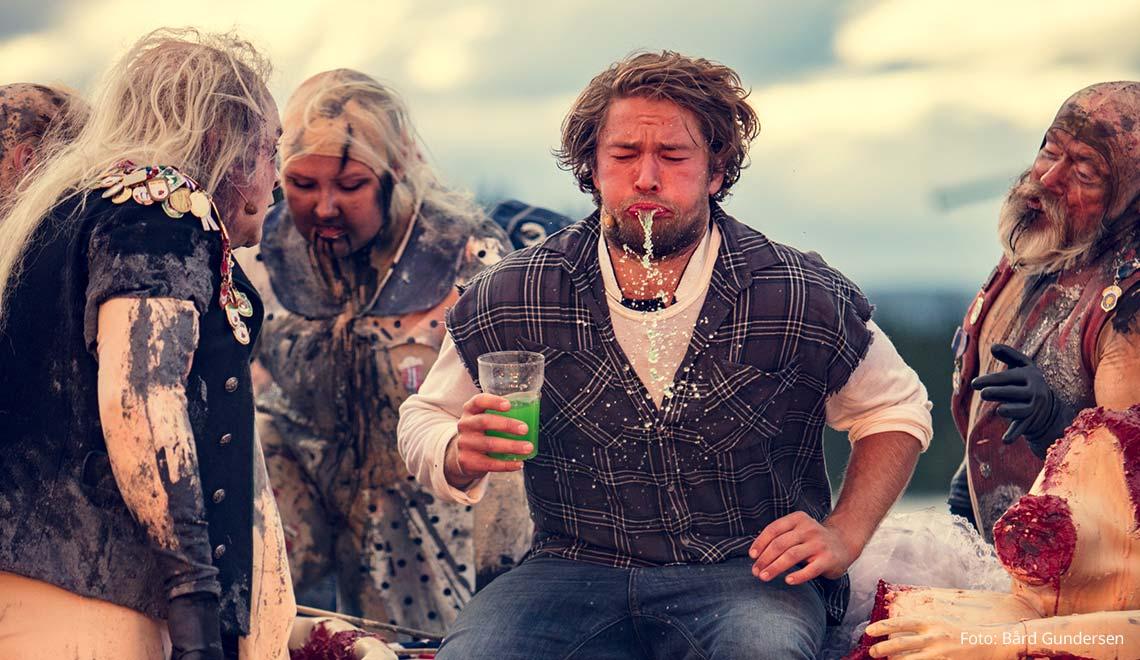 Peer Gynt Festival: Peer Gynt beim Dovrekönig
