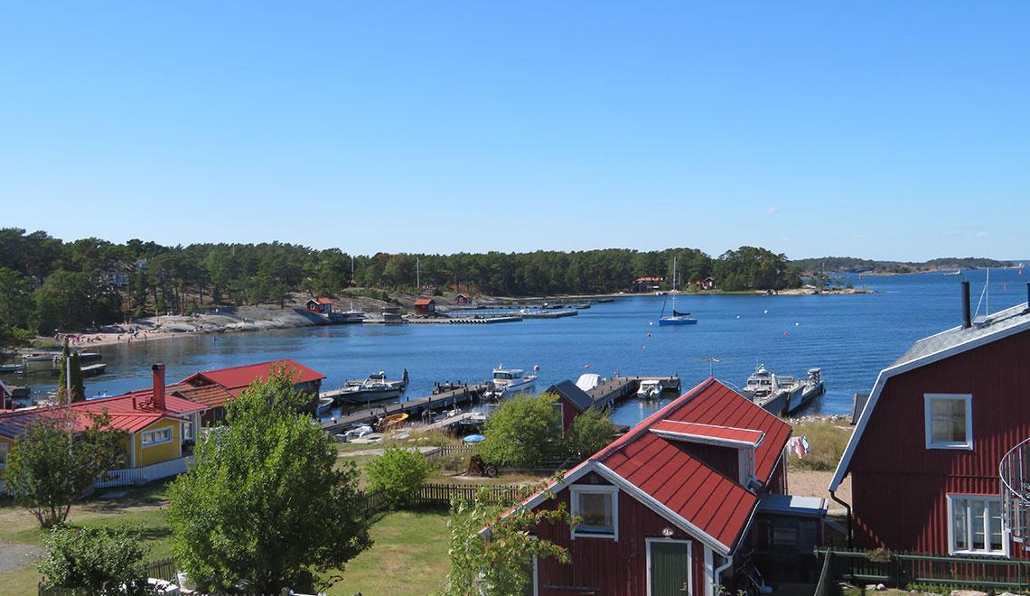 Sommerwetter und Sonnenschein auf Sandhamn