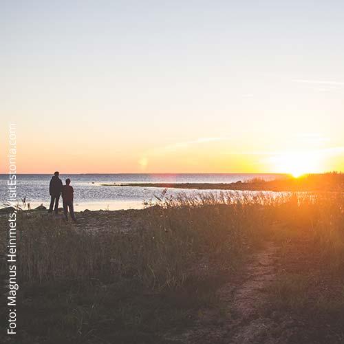 Sonnenuntergang auf Hiiumaa