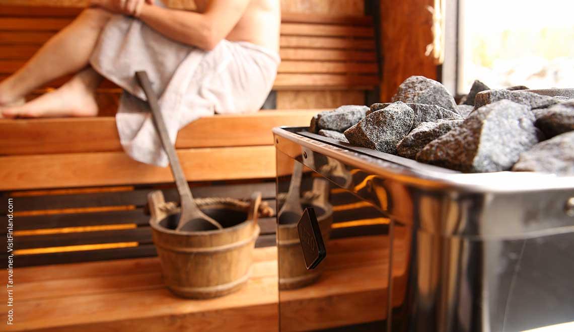 Finnisch Saunieren: Sauna auf Finnisch