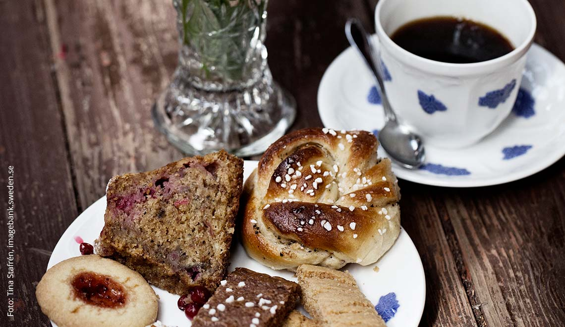 Kaffee & Gebäck - Fika in Schweden