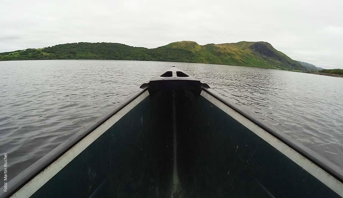 Kanufahren auf dem Lough Mask