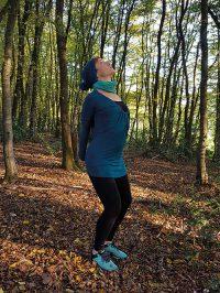 Yoga-Übung Schultergruß Teil 5