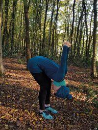 Yoga-Übung Schultergruß Teil 6