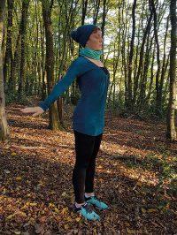 Yoga-Übung Schultergruß Teil 8