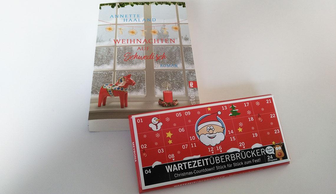 Weihnachten auf Schwedisch - Cover