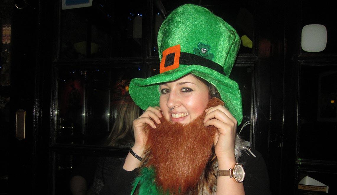 Hanna lebt die irische Gelassenheit