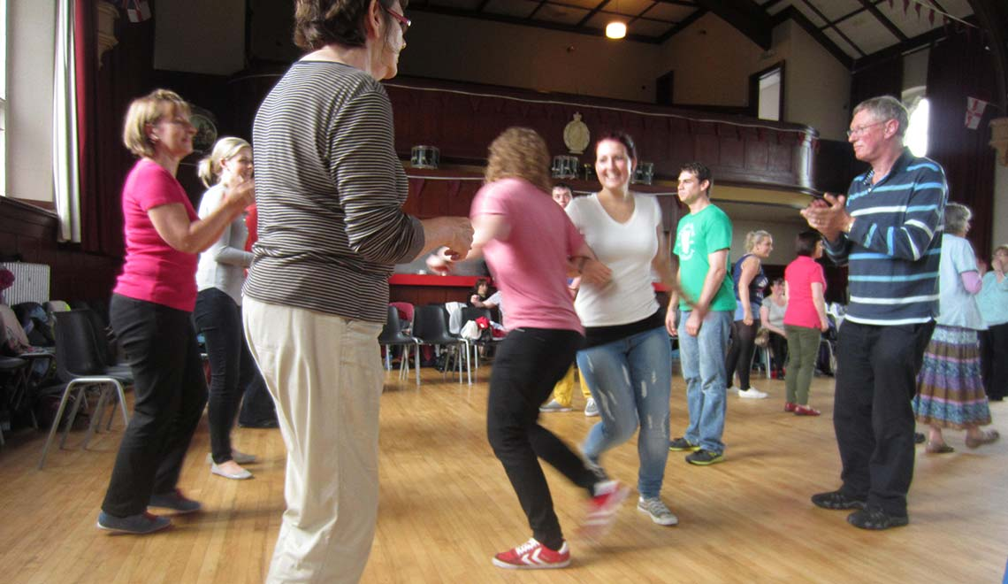 Irish Fleadh Dance Lesson