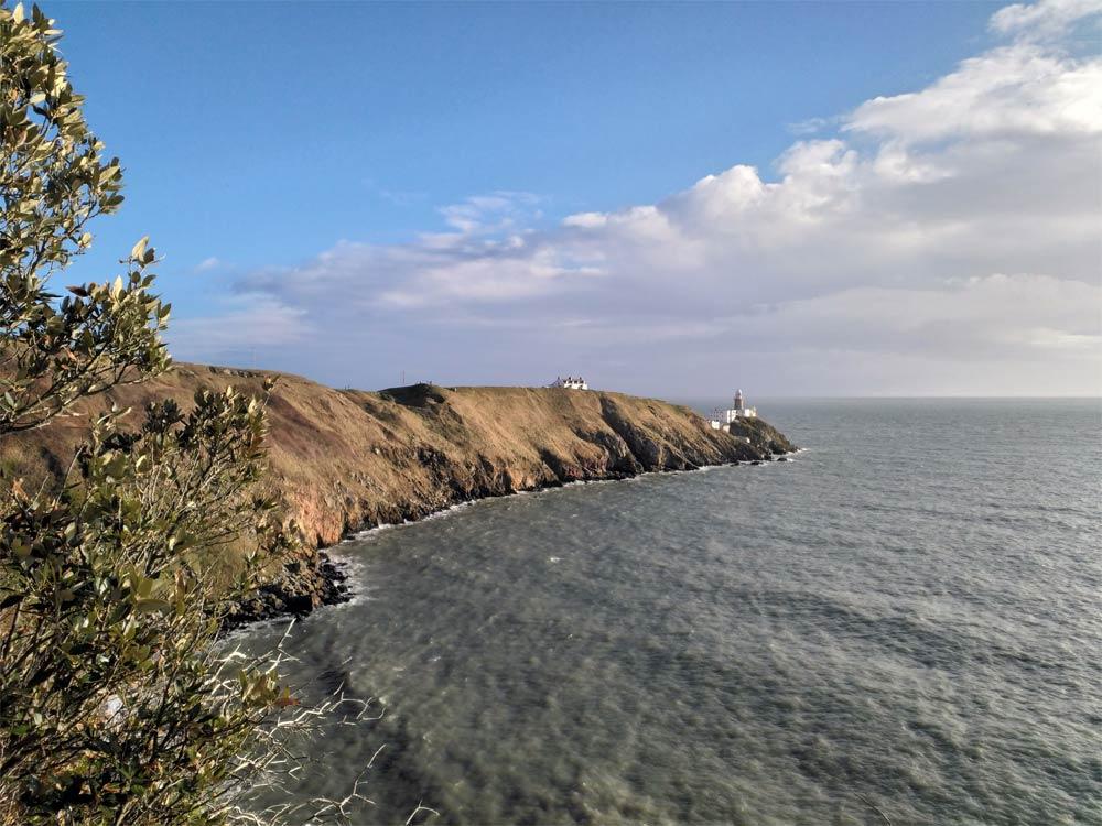 Bally Lighthouse auf Howth