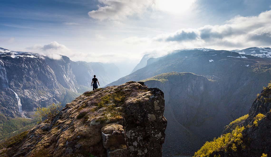 Faszinierende Ausblicke in Norwegen: Fossjuvet Forsand