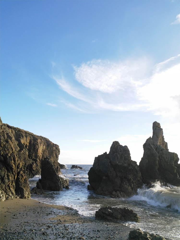 Küste bei Dalkey