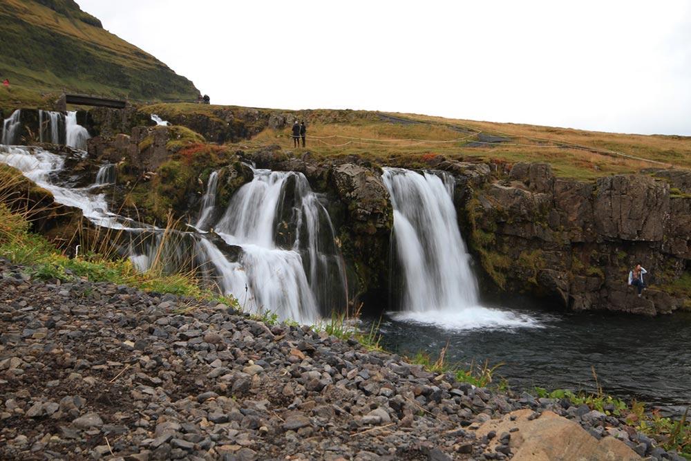 Islands wunderbare Wasserfälle