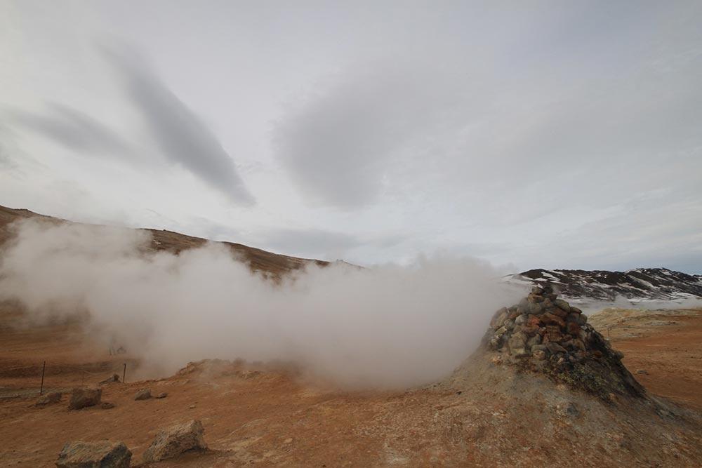 Sehenswürdigkeiten in Island: Heiße Quellen